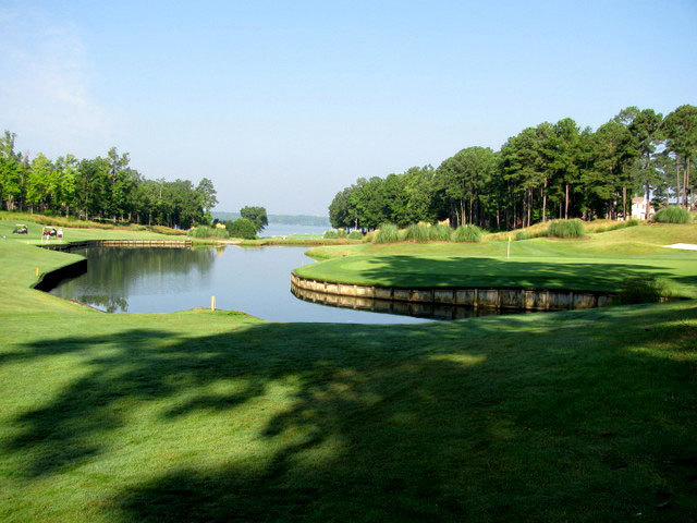 The Landing course at Reynolds Plantation - hole 2
