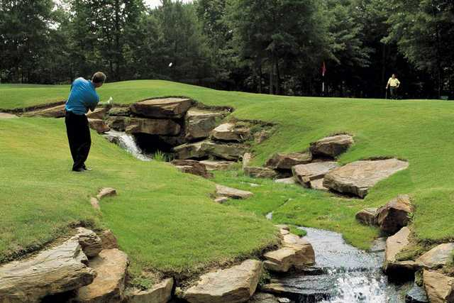 Stone Mountain Ga Elevation : Woodlands at chateau elan golf club in braselton