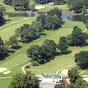 Lafayette GC: Aerial view