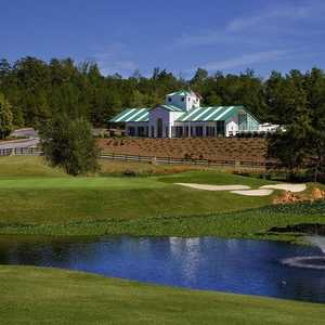 Chicopee Woods GC: clubhouse