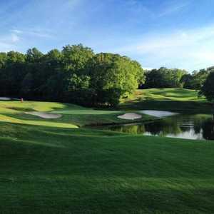 #5 on the Par-3 Course at Chateau Elan Golf Club