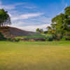 View of the 7th green from The Azalea Nine at Bobby Jones Golf Course.
