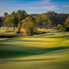 View of the 6th green from The Azalea Nine at Bobby Jones Golf Course.