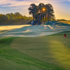 View of the 5th green from The Azalea Nine at Bobby Jones Golf Course.