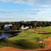 View of the 18th hole from Sea Palms Golf & Tennis Resort