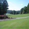A view of a fairway at Cedar Lake Golf Club