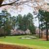 A spring view of fairway #18 at Creekside from Golf Club of Georgia