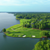 Aerial view of #4 & #5 from The Landing at Reynolds Lake Oconee