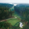 National's Bluff Nine at Reynolds Plantation: Aerial view of #2 & #3