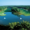 National's Ridge Nine at Reynolds Plantation: Aerial view of #4 & #5