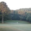 A view of the 4th green at Nob North Golf Course