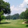 View of a green and fairway at Cherokee Pines Golf and Fitness Club