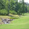 A view of the 6th green at Nicklaus Bluff Nine from Champions Retreat Golf Club