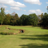 View of the 13th from the Woodlands Course at Chateau Elan Golf Club