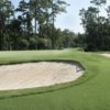 A view of the 15th green at Glen Arven Country Club