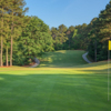View of the 8th hole from the Lakemont at Stone Mountain Golf Course