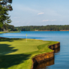 View of a green from the Great Waters Course at Reynolds Lake Oconee