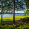 View of the 9th green from the Great Waters Course at Reynolds Lake Oconee
