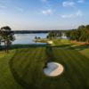 View of the 11th hole from the Great Waters Course at Reynolds Lake Oconee