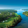 Aeria view from the National Course at Reynolds Lake Oconee