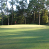 A view of a green at Evans Heights Golf Club.