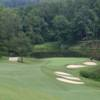 A view of hole #1 at Currahee Club.