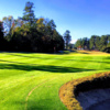 A view of a hole at Augusta Country Club.