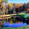 A fall day view from Augusta Country Club.