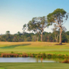 A view of a fairway at Frederica Golf Club.