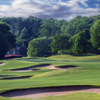 A view of hole #1 at Meadows Course from TPC Sugarloaf.