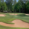 A view of the 6th green at Pines Course from TPC Sugarloaf.