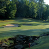 A view of the 3rd green at Meadows Course from TPC Sugarloaf.