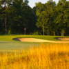 A sunset view of a green at Georgia Club.
