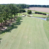 View of the 10th fairway and green from the Tired Creek Golf Course