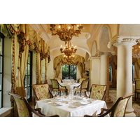 The Georgian Room at The Cloister is the only five-star restaurant in Georgia.