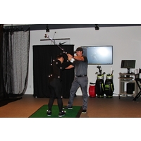 Cutting-edge technology at the Golf Performance Center at Sea Island helps golfers better understand their games.