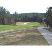 The golf course at Mt. Vintage Plantation and Golf Club features nice, rolling terrain.