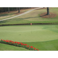 The Lakeside course at the Golf Club of Georgia has more challenging greens.
